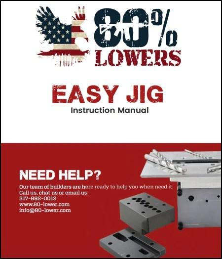 AR 15 Easy Jig Gen 1 Pictorial Instructions - Download