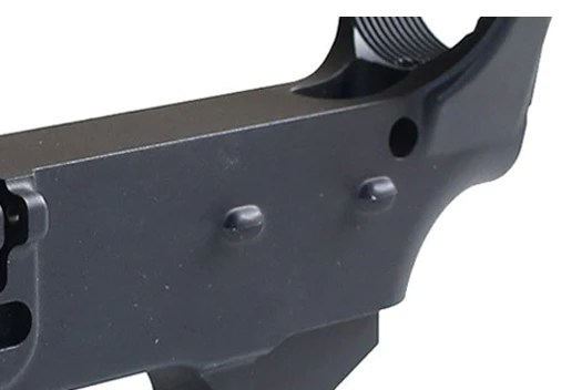 Anodized black 80 lower