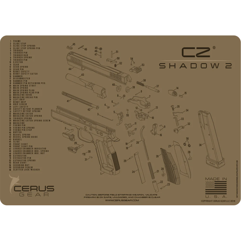 hight resolution of cz shadow 2 schematic handgun promat same day shipping