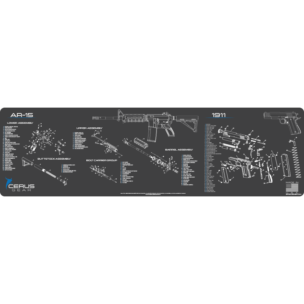 ar15 1911 schematic combo magnum xxl promat same day shipping [ 1000 x 1000 Pixel ]