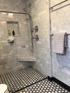carrara white marble 3x6 subway tile polished honed