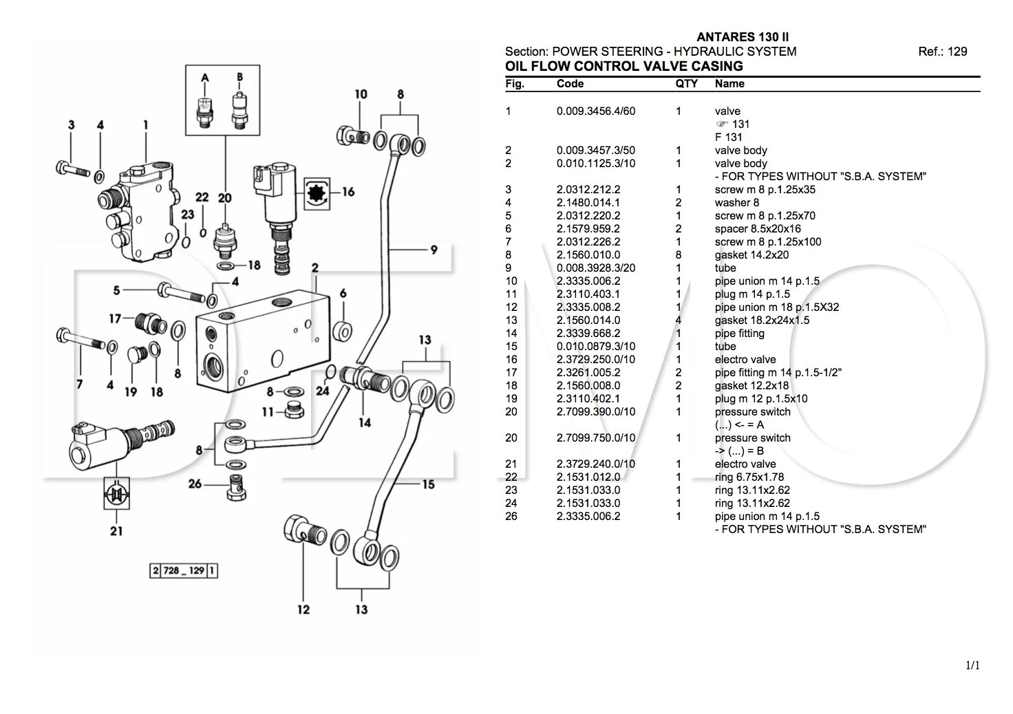hight resolution of  same argon 70 parts catalogue 123manuals com