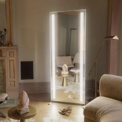 Full Length Mirror In Living Room Family Decor Ideas Glamcor Lighted Vanity Dressing Fortune Fame Unlimited Unconditional Warranty For Manufacturer S Defect Loss Of Functionality Parts Shipping And Service After Five Years We Will Continue To
