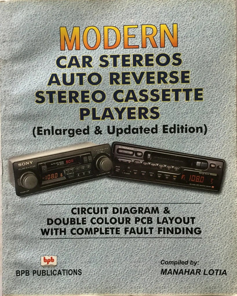 hight resolution of modern car stereos auto reverse stereo cassette players by manahar lot bpb publications