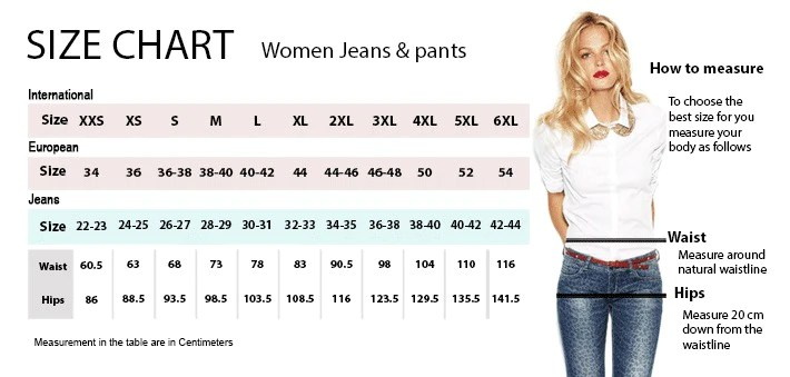 Size chart women jeans and pants also saiveina quality mini pocket umbrella clear men   windproof rh ilovealmashopify