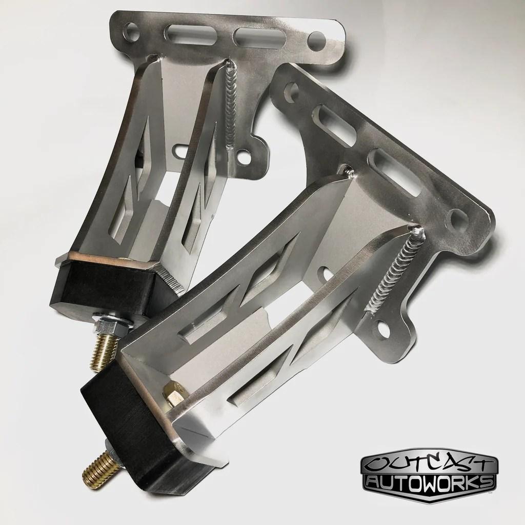 medium resolution of ford f100 crown vic swap big block 429 460 polyurethane motor mount set