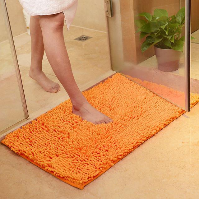Soft Microfibre Shaggy Non Slip Absorbent Bath Mat