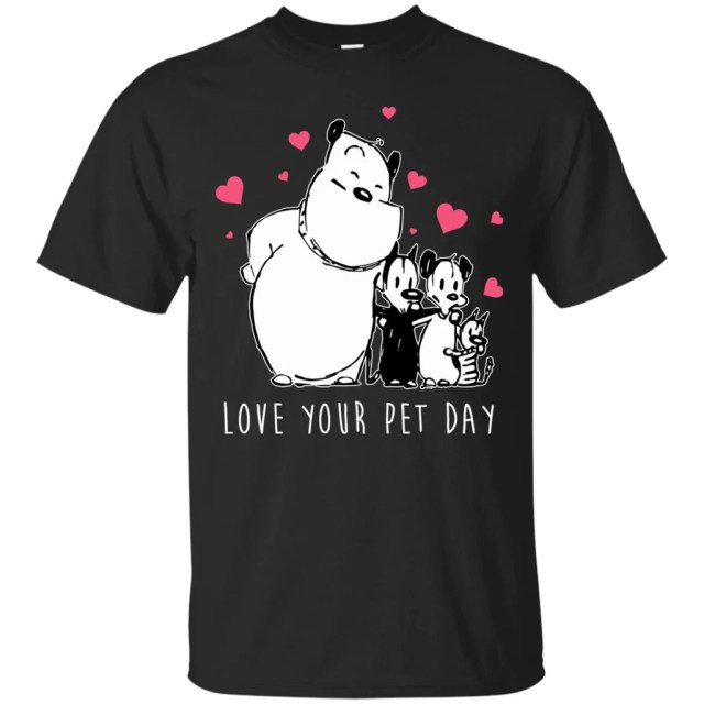 Image result for love your pet t shirt