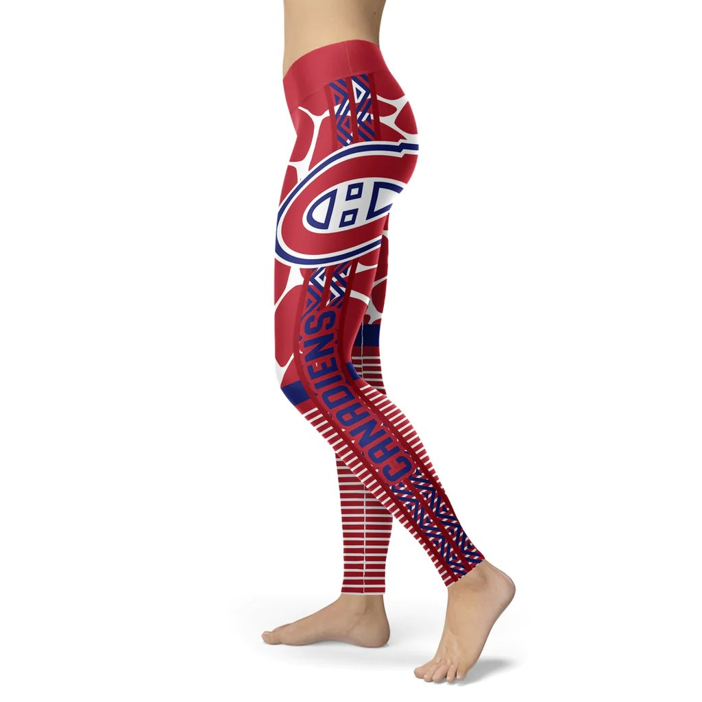 Awesome Light Attractive Montreal Canadiens Leggings