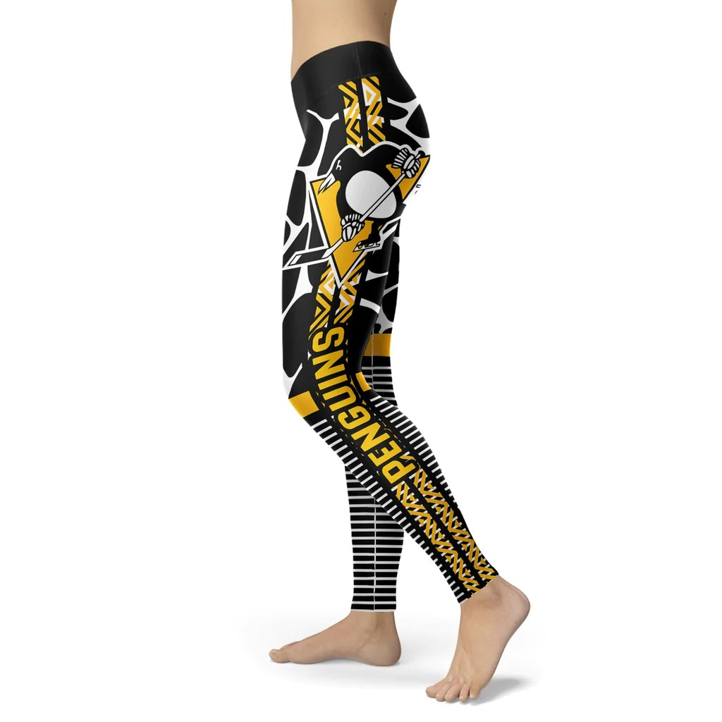 Awesome Light Attractive Pittsburgh Penguins Leggings