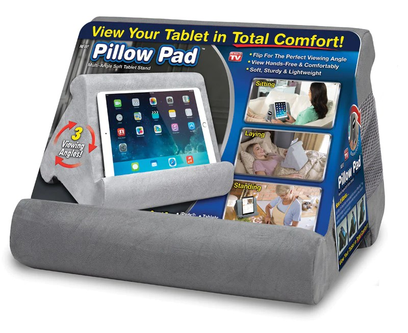 pillow pad ppad cd12 4 as seen on tv tablet holder assorted color