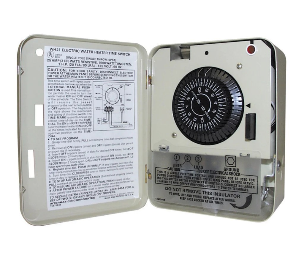 hight resolution of buy intermatic electric water heater timer online at low price lifeandhome com