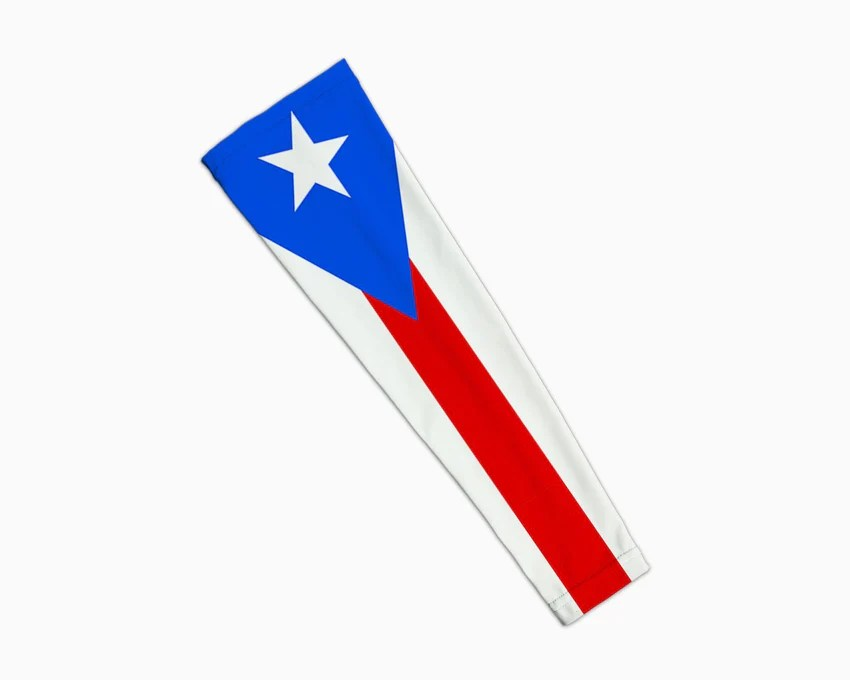puerto rico flag arm