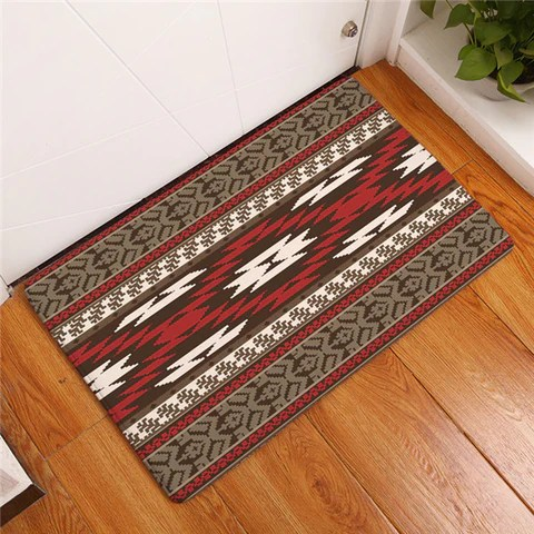 kitchen carpets cooking games homing modern rugs anti slip mats colorful indian mandala striped geometry bedroom bedside