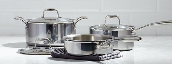 kitchen pots and pans mission style hardware high quality cookware bakeware kitchenware paderno cuisines durable more chaudrons casseroles et plus