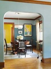 Modern Craftsman Interior Colors : modern, craftsman, interior, colors, Craftsman, Bungalow, Interior, Paint, Colors, Beauty, Craft