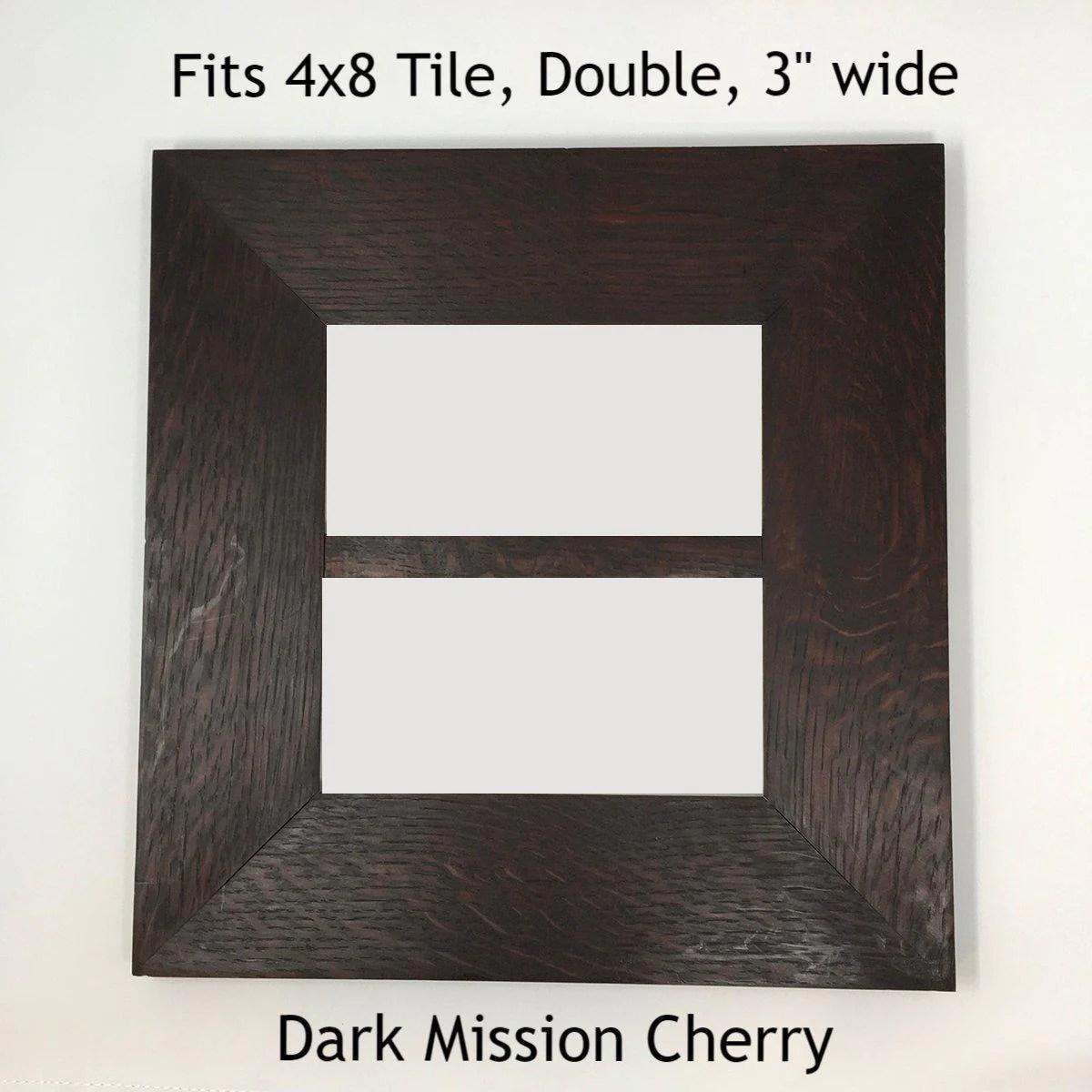 4x8 multi tile oak frame