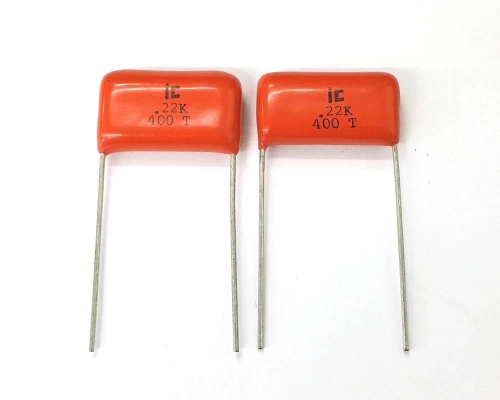 lot of 2 0 22uf 400v metal film capacitors illinois capacitor 224msr400k marvac electronics [ 1000 x 800 Pixel ]