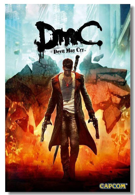 devil may cry 5 video game 24 x 14 inch