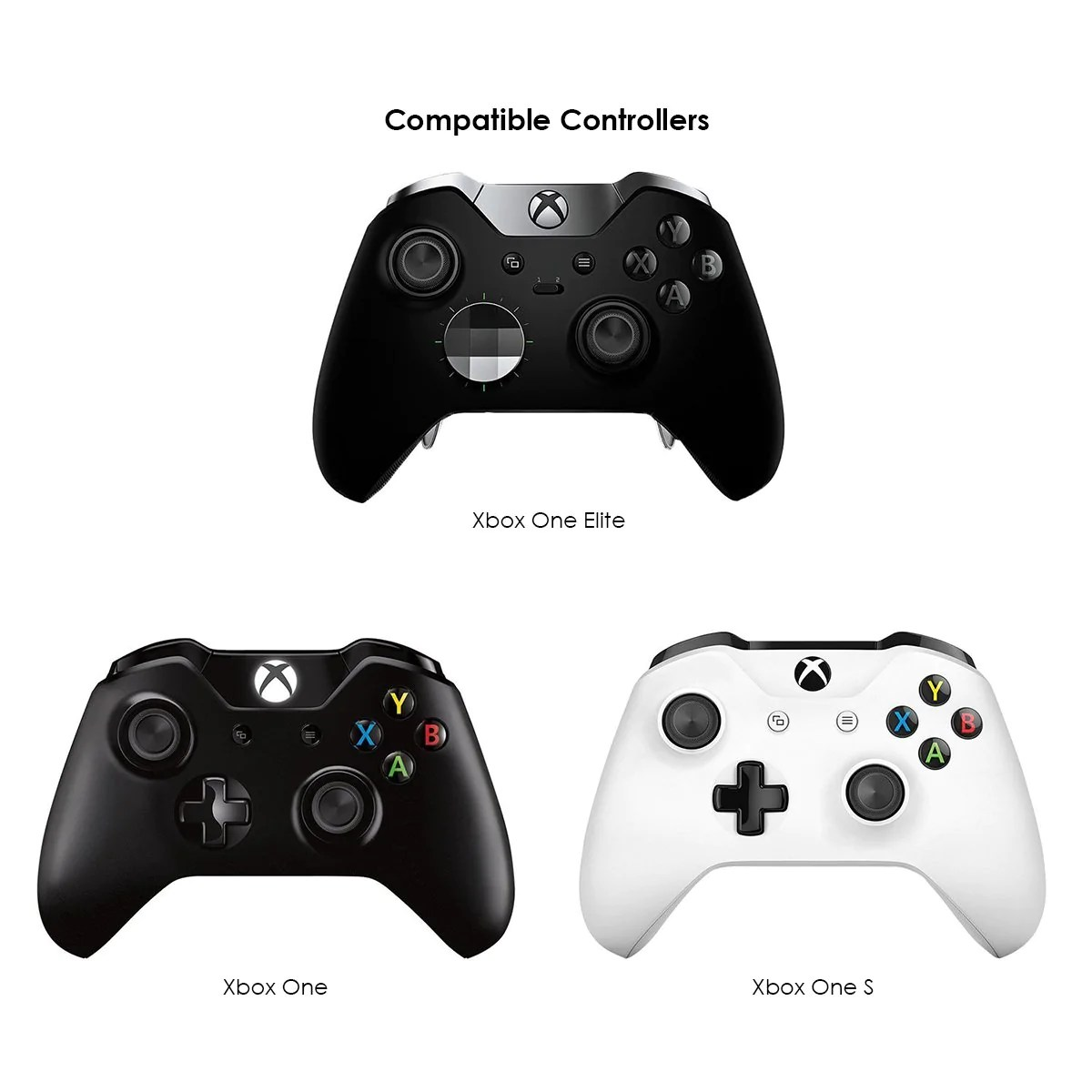 xbox one controller usb gamesir xbox one controller charger with 2 800mah [ 1200 x 1200 Pixel ]