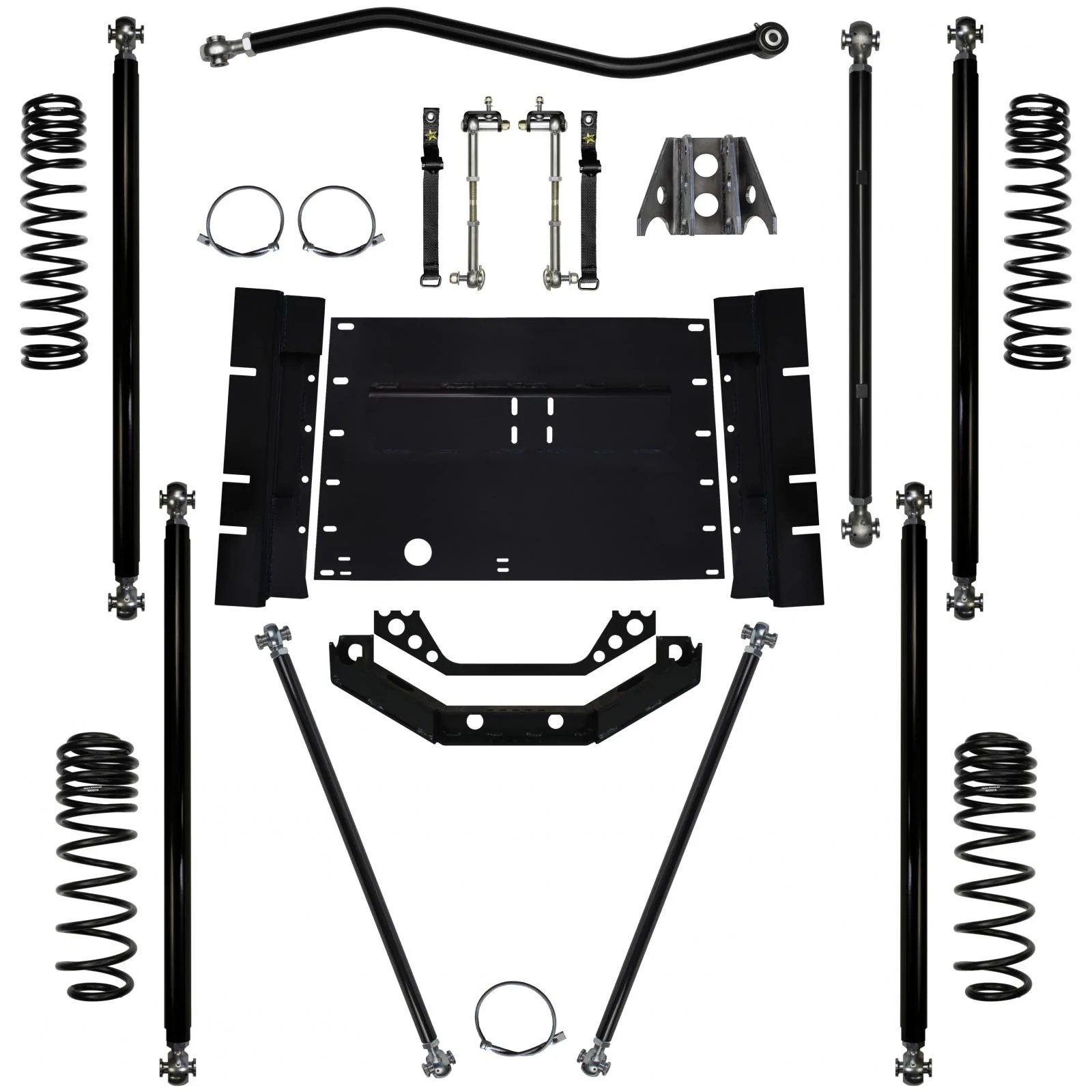hight resolution of rock krawler 2 0 inch off road pro long arm system for jeep wrangler 2003 2006 tj