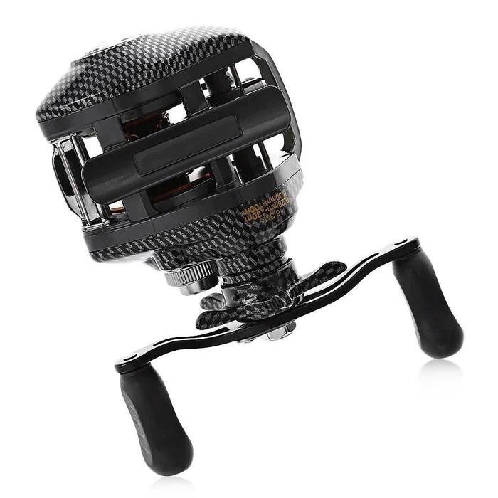 fishing chair hand wheel pompon nailhead side lie yu wang la reel water drop 12 1 bbs 6 3 right