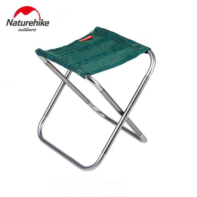 folding chair portable parson slipcovers dining chairs naturehike stool outdoor aluminium alloy fishing speciality store green