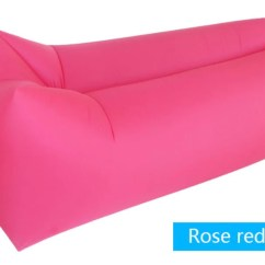Air Bag Chair Twin Sleeper With Ottoman Outdoor Inflatable Lounger Couch Hangout Airbag Budget
