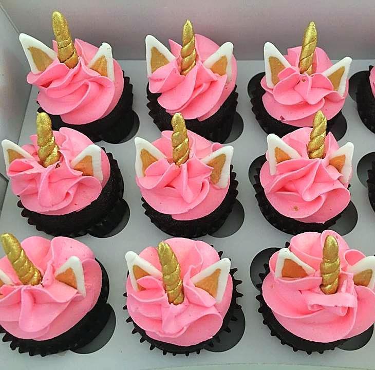 Rainbow Unicorn Mini Cupcakes Cake Creations By Kate
