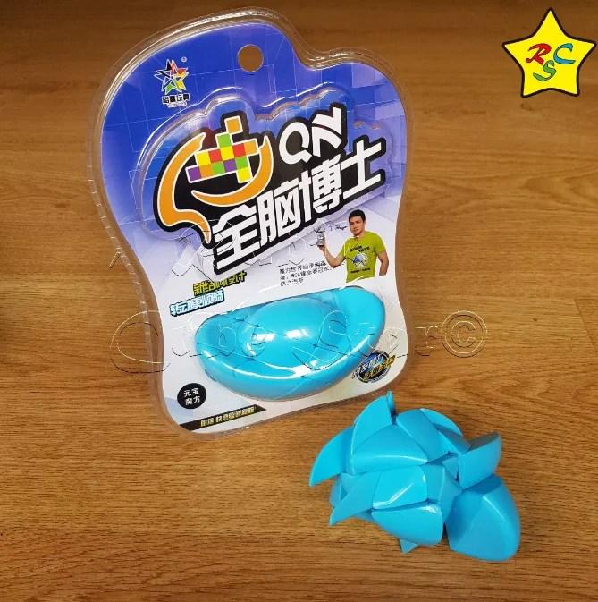 Cubo Rubik Yuan Bao Yuxin Aguacate Modificacion 3x3  Azul