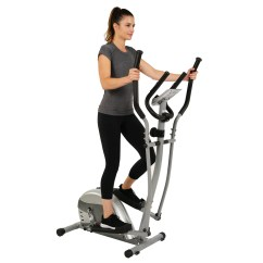 Chair Gym Exercise Book Era Lounge Low Steel Efitment Compact Magnetic Elliptical Machine Trainer With