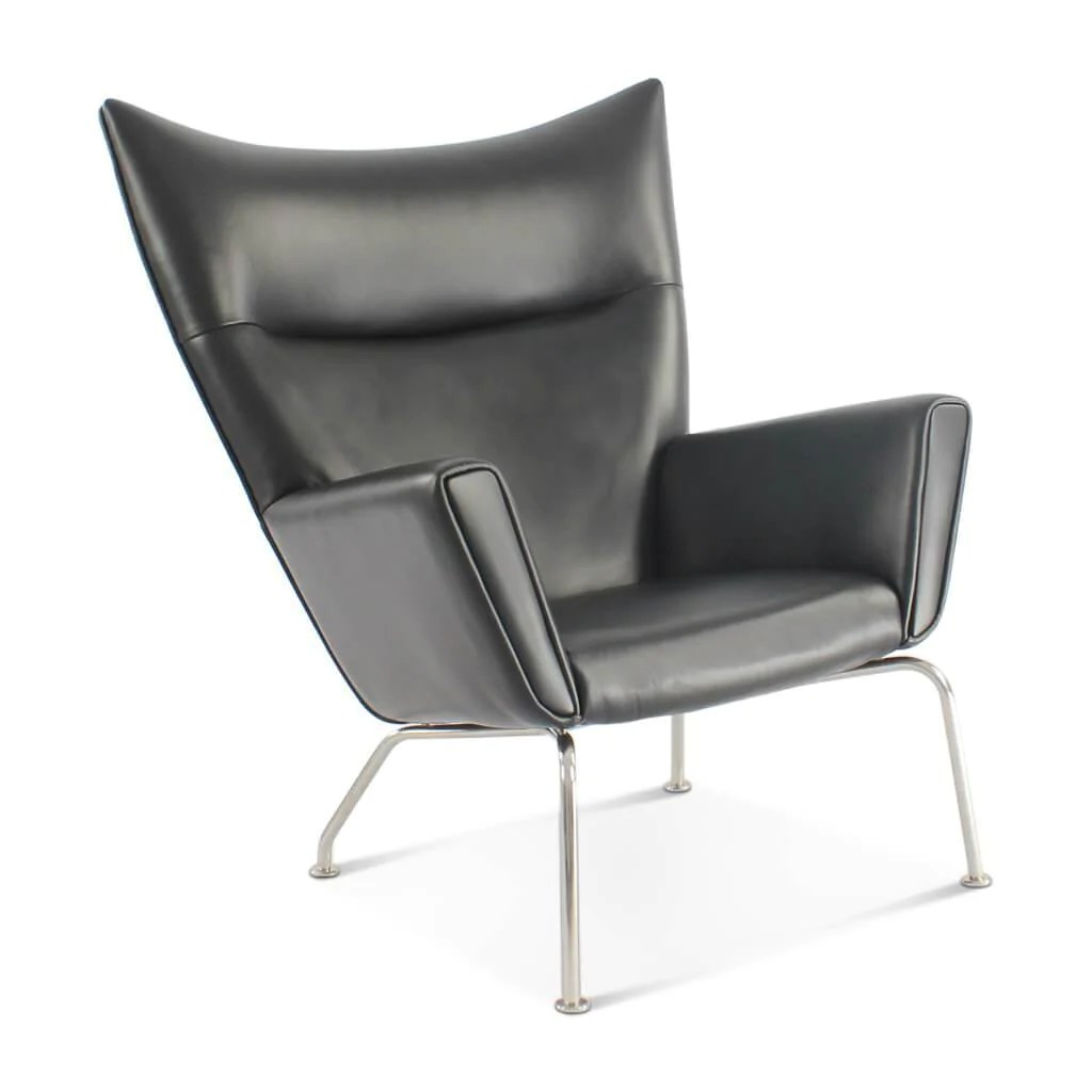 White Wing Chair Hans Wegner Wing Chair