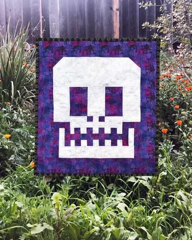 Sugar Skull Quilt : sugar, skull, quilt, Behind, Seams:, Sugar, Skull, Quilt, Girls