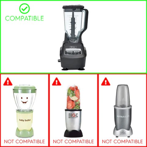 Compatible with Nutri Ninja BL770 BL771 BL773CO