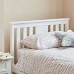 Lisa Wooden Single Bed Frame White Laura James