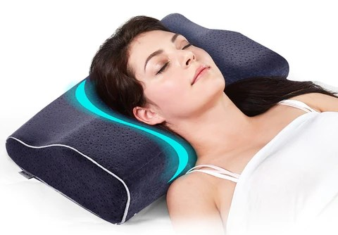 save your neck and stop snoring new design orthopedic neck support pillow