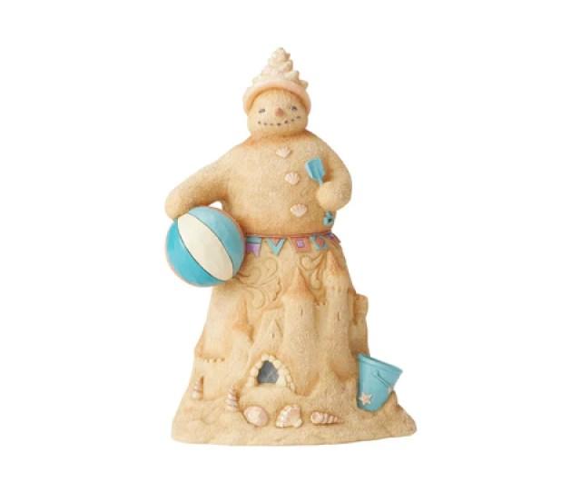 Coastal Sandman With Beachball