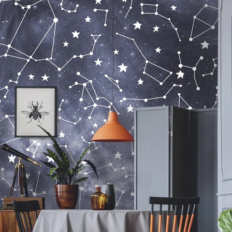 our galaxy constellation wall