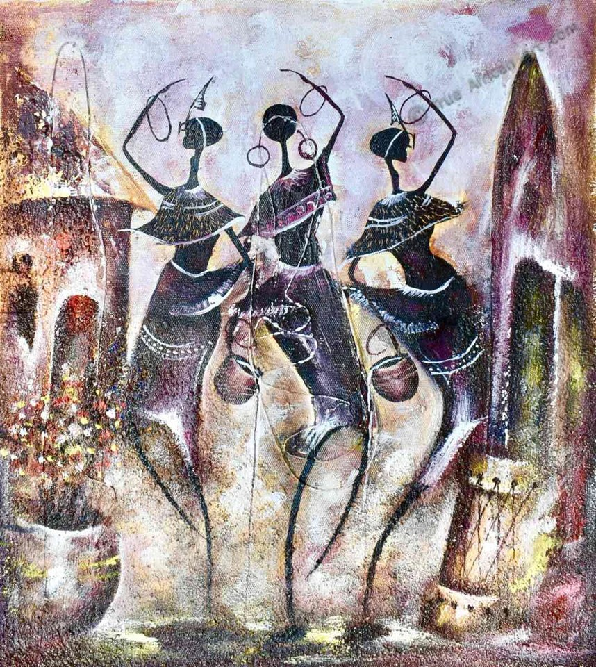 African Artists Paintings Online
