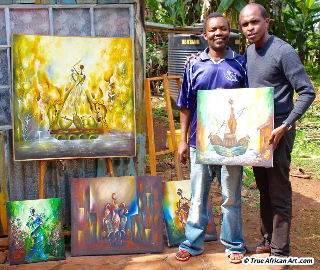 African Artists Paintings Online Art True
