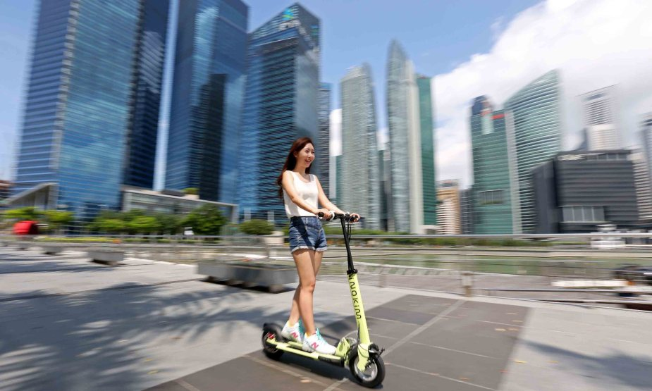 inokim electric kick scooter