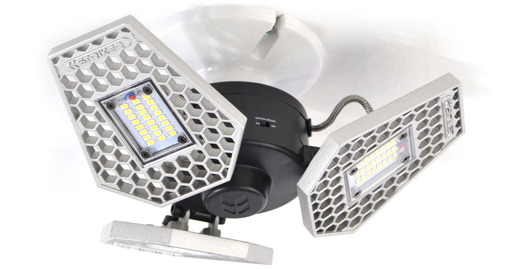 hight resolution of trilight motion activated ceiling light