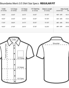 Van heusen mens dress shirts size chart also bcd tofu house rh bcdtofu