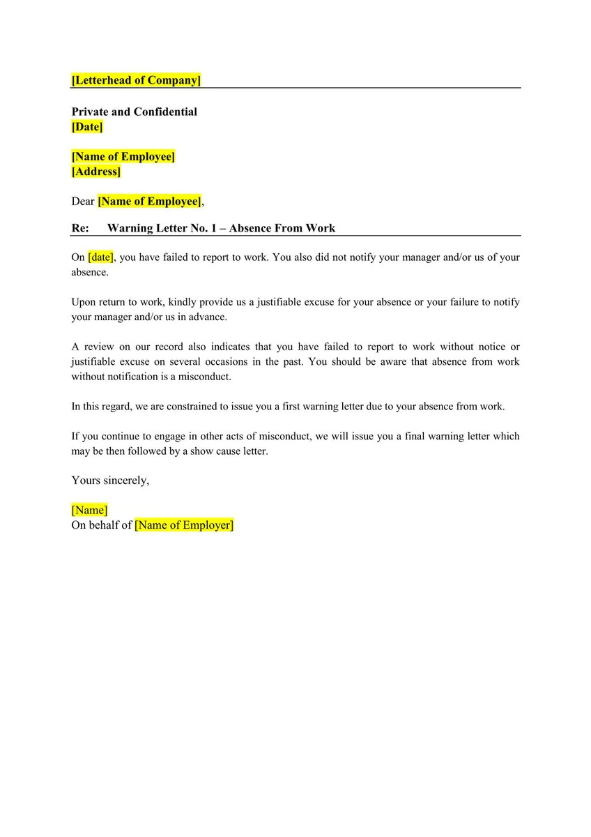 16-in-1] Employment Letter Templates – BurgieLaw Store