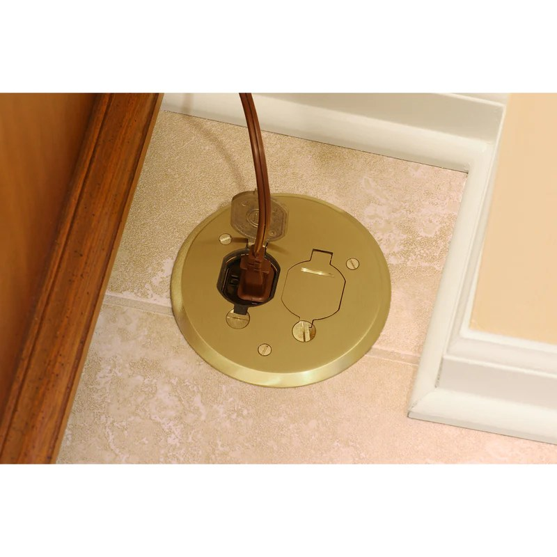 floor box outlet