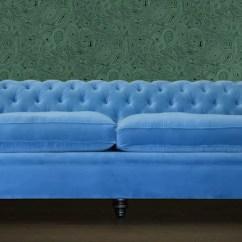 Blue Velvet Chesterfield Sofa Protector Argos Sofas Chesterfields Of England