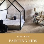 Painting Kids Furniture Painting A House Bed Frame Ruby Rye Co