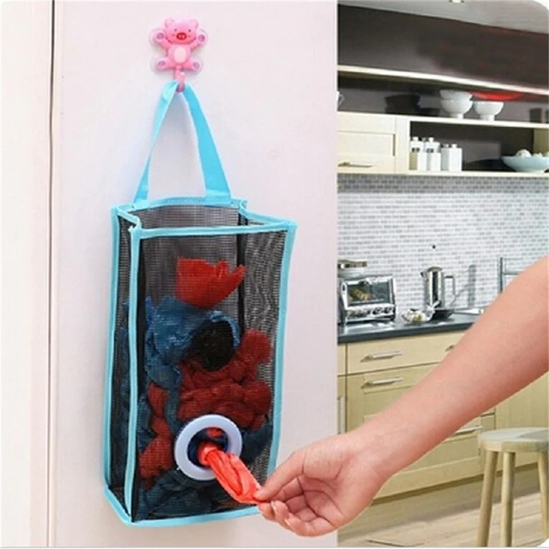kitchen organizer decorating rubbish bags hanging mamahome your essential store