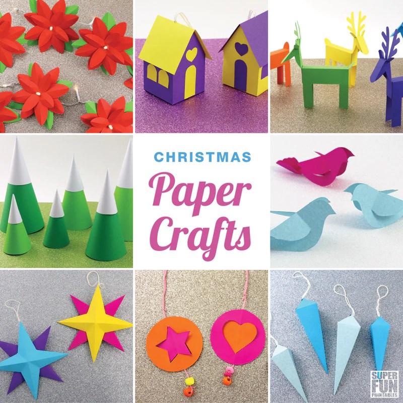 Christmas Paper Crafts Ebook Super Fun Printables