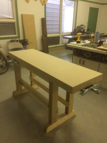 Plywood Benchtop